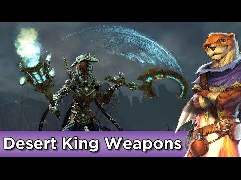 Desert King Weapons Set Preview ► Guild Wars 2 thumbnail