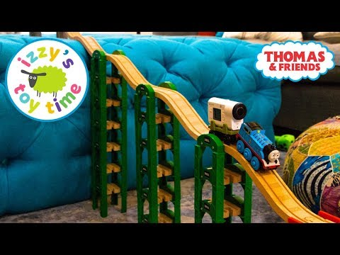Thomas and Friends HOUSE TRACK BUILD! Fun Toy Trains for Kids with Brio and Thomas Train