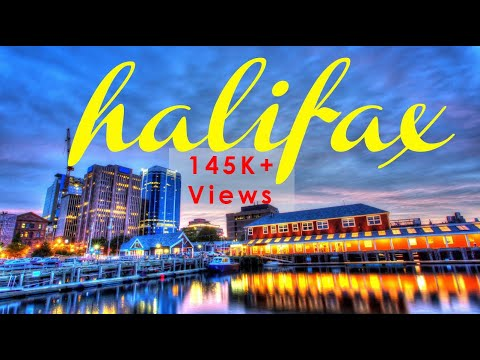 Halifax Nova Scotia | Downtown & Waterfront In Motion| Canada Travel Visit Haligonia Ferry Timelapse