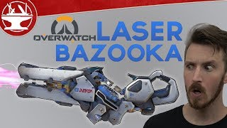 Overwatch LASER BAZOOKA Build!