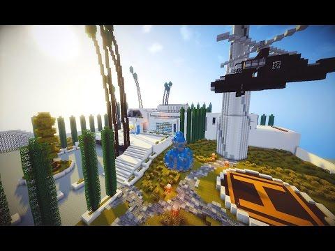 Casa moderna no survival com super mina na montanha d for Casa moderna gigante minecraft