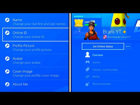 HOW TO CHANGE PS4 GAMERTAG FREE! FREE PS4 ONLINE ID CHANGE! CHANGE PS4 ONLINE ID FREE! PS4 GAMERTAG
