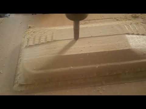 Milling wood speaker cover up