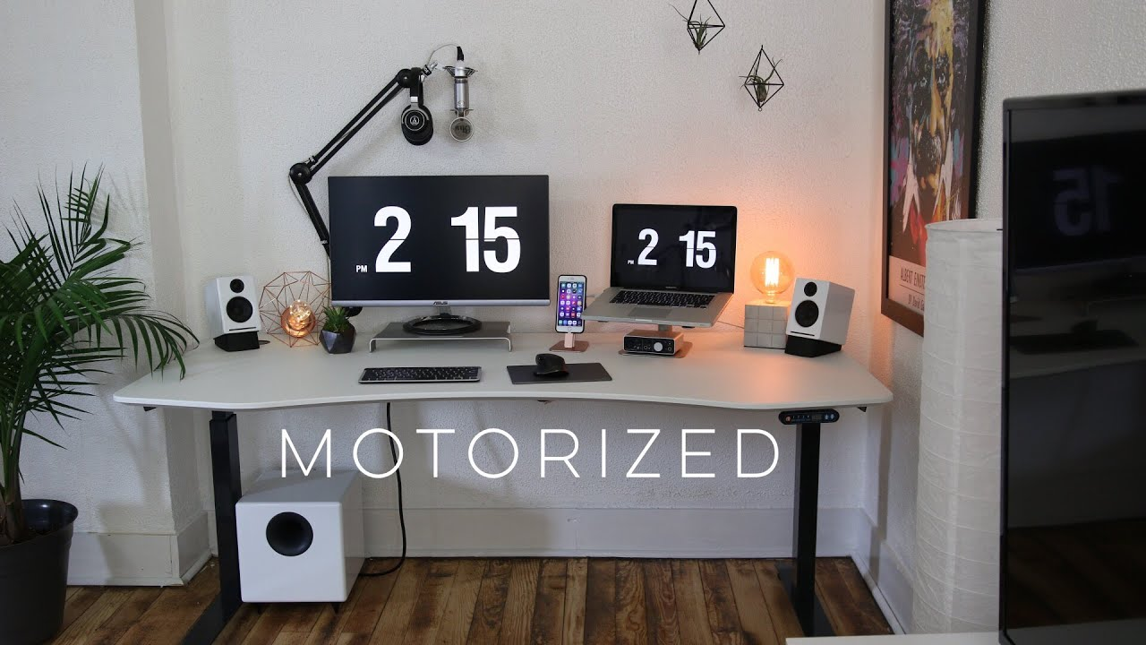 Best Desk Ever Apex Motorized Sit Stand Desk Review
