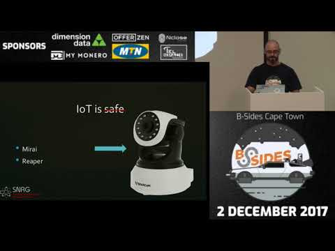Brent Shaw - Securing the Industrial Internet of Things