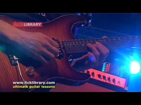 Guthrie Govan - Wonderful Slippery Thing - Live @ The Music Live NEC