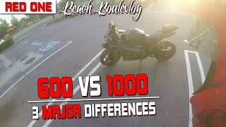 600cc VS 1000cc | 3 Major Differences