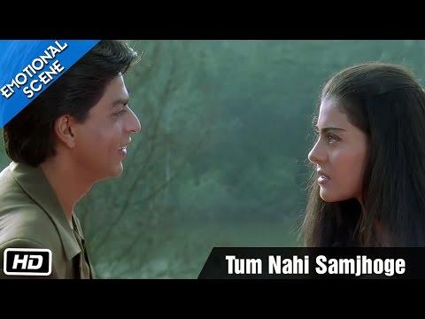 Tum Nahi Samjhoge - Emotional Scene - Kuch Kuch Hota Hai - Shahrukh Khan, Kajol, Salman Khan