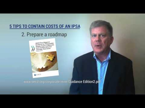 IPSA Cost Containment Tips - for Conflict Minerals (Hileman)
