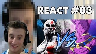 KRATOS vs BILLS [Part. Tenkai] l Aguia l COMBATE #01 REACT #03