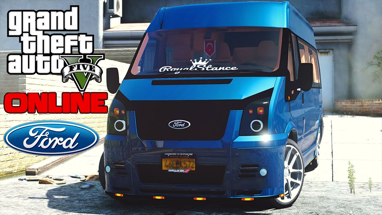 2016 Ford Transit >> Gta 5 FORD TRANSİT MODU!!! Ekip - YouTube