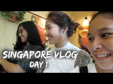 Singapore Vlog | Day 1