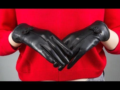 7 Зимние женские перчатки с Алиэкспресс Aliexpress Winter Women Gloves Одежда Зима 2020