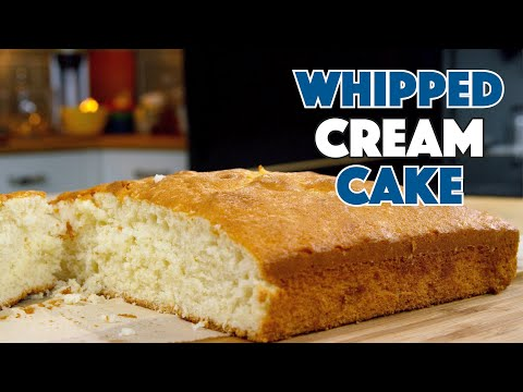1936 WHIPPED CREAM Cake Recipe