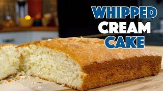 1936 Whipped Cream Cake Recipe || Glen & Friends Cooking