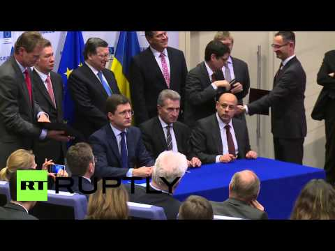 Belgium: Russia, Ukraine agree on gas supplies until March 2015
