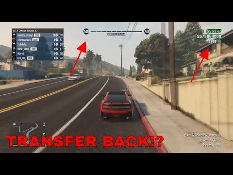GTA 5 MODDED ACCOUNT TRANSFER BACK!? - ???