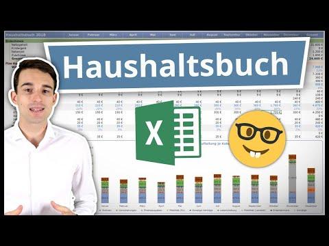 Excel Haushaltsbuch Erstellen & Führen | Anleitung Inkl. Vorlage 📊
