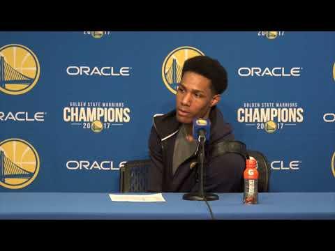 Patrick McCaw Postgame Interview / GS Warriors vs Jazz / Dec 27