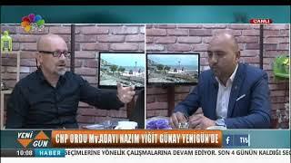 21/06/2018 NAZIM YİĞİT GÜNAY / CHP ORDU MİLLETVEKİLİ ADAYI