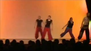Modern Bollywood Fusion dance by students of sanjeev jimmy performing arts, at europe