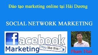 Đào tạo marketing online tại Hải Dương - social network marketing