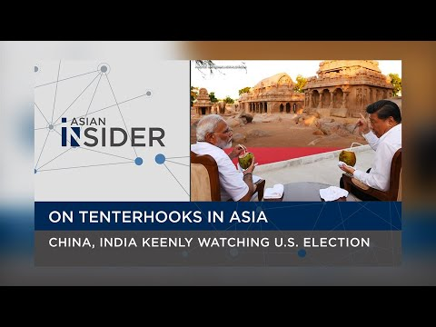 On tenterhooks in Asia: China, India keenly watching US Elec