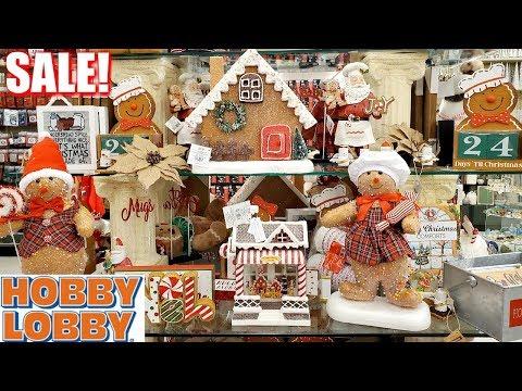 Hobby Lobby CHRISTMAS decor SALE * SHOP WITH ME 2019