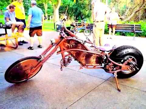 how to build a chopper bicycle from scratch