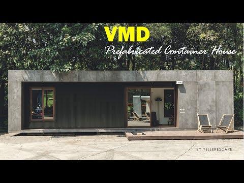 VMD Prefabricated Container House- Taller Escape + Studioroca