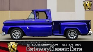 #7124 1963 Chevrolet C10 - Gateway Classic Cars of St. Louis