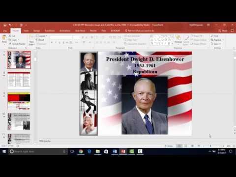 APUSH 1950s Lecture Video