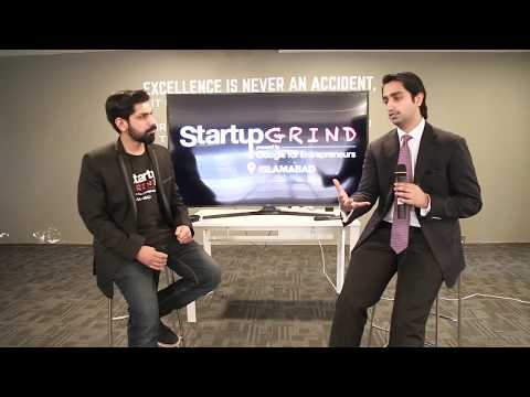 Startup Grind with Ali Mukhtar (Fatima Ventures) - Islamabad - January 9, 2018