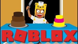 EAT MY CAKE!!! [ ROBLOX BAKERS VALLEY ]