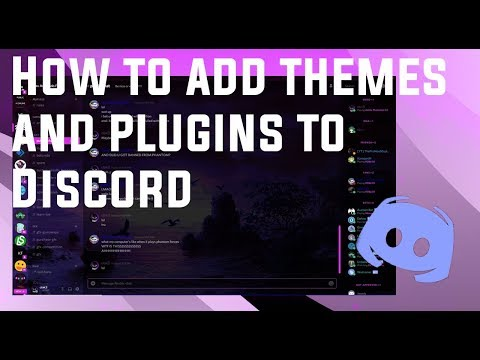 How to add Themes and Plugins to Discord! - YouTube