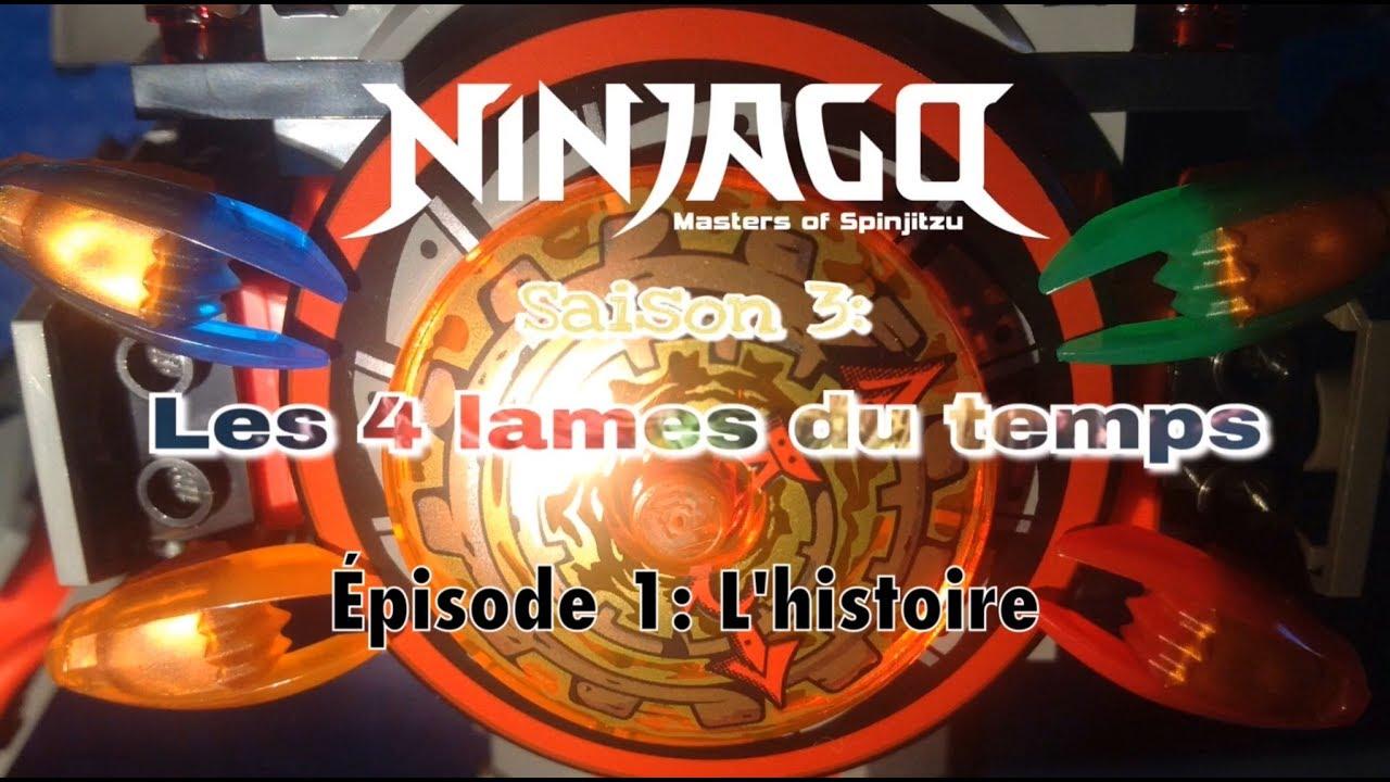 Ninjago saison 3 les 4 lames du temps episode 1 l - Ninjago saison 4 ...