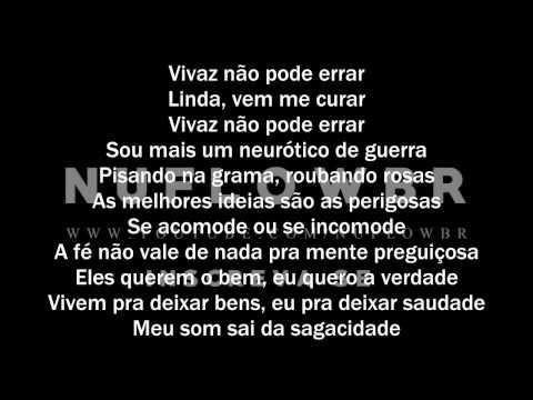 Filipe Ret - Neurótico de Guerra (Letra)