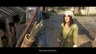 Kingdom Come Deliverance: Getting Adela A New Job & Sleeping With Her (Women's Lot DLC)