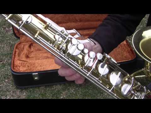 Saxophone Bb tenor Amati kraslice