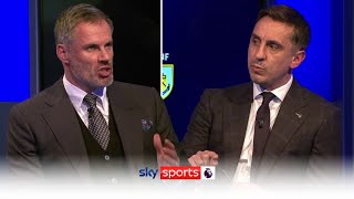 Why are English sides dominating in Europe? | Carragher & Neville discuss impact of PL managers