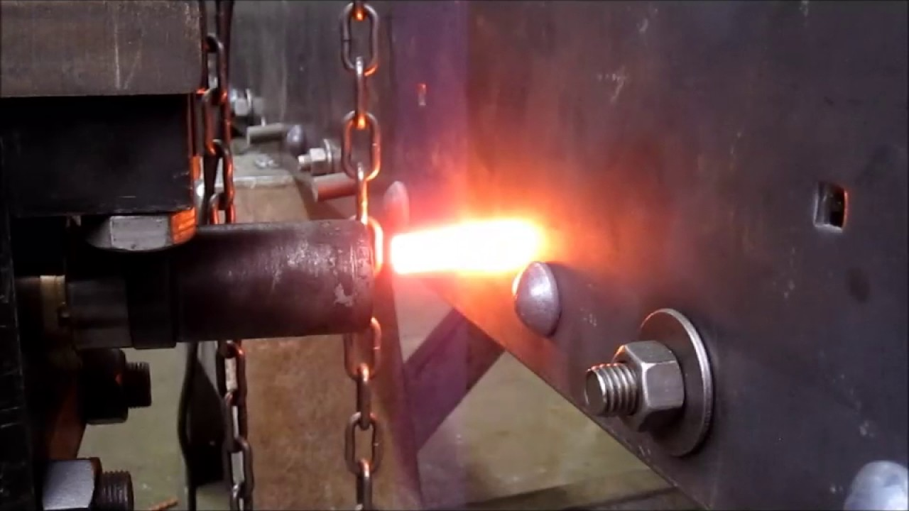 hot riveted industrial staircase - youtube