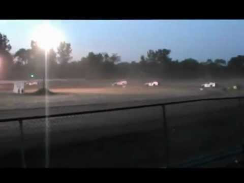 Joe Rokos #77 Owendale Speedway Modified Heat Race 6-30-12