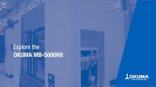 Horizontal Machining Center MB-5000HⅡDemonstration【OKUMA CORPORATION JAPAN】