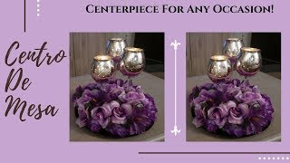 Centerpiece In Lilac And Purple Color! Wedding, Birthday or Quinceñera!
