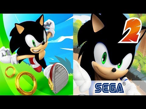 Sonic Dash SHADOW VS Sonic Dash 2 SHADOW