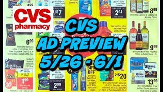 CVS AD PREVIEW (5/26 - 6/1) | MONEYMAKER MAKEUP | ANYTHING ELSE?