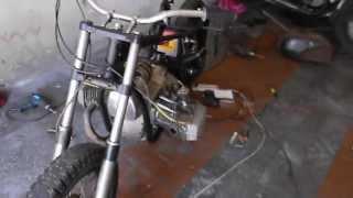 Собрал частично электропроводку мотоцикла ДНЕПР МТ !!