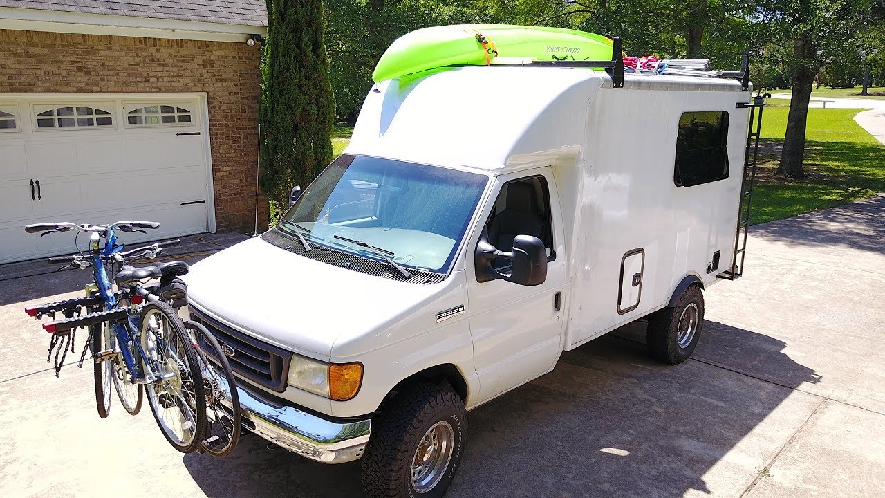 small resolution of box truck camper 97 build it and use it 2