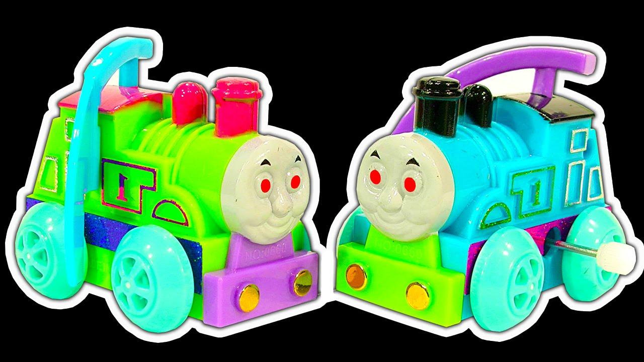 Thomas the tank dark side knock off toys ep 11 new take n play smaller thomas youtube - Tom dixon knock off ...