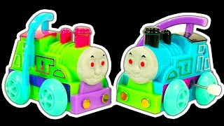 Thomas The Tank Dark Side Knock Off Toys Ep 11 & New Take N Play Smaller Thomas